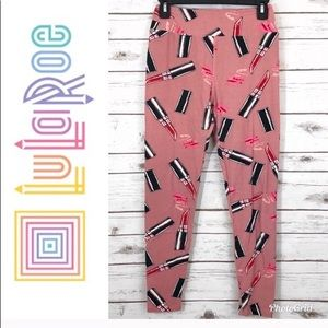 Lularoe Lipstick Leggings